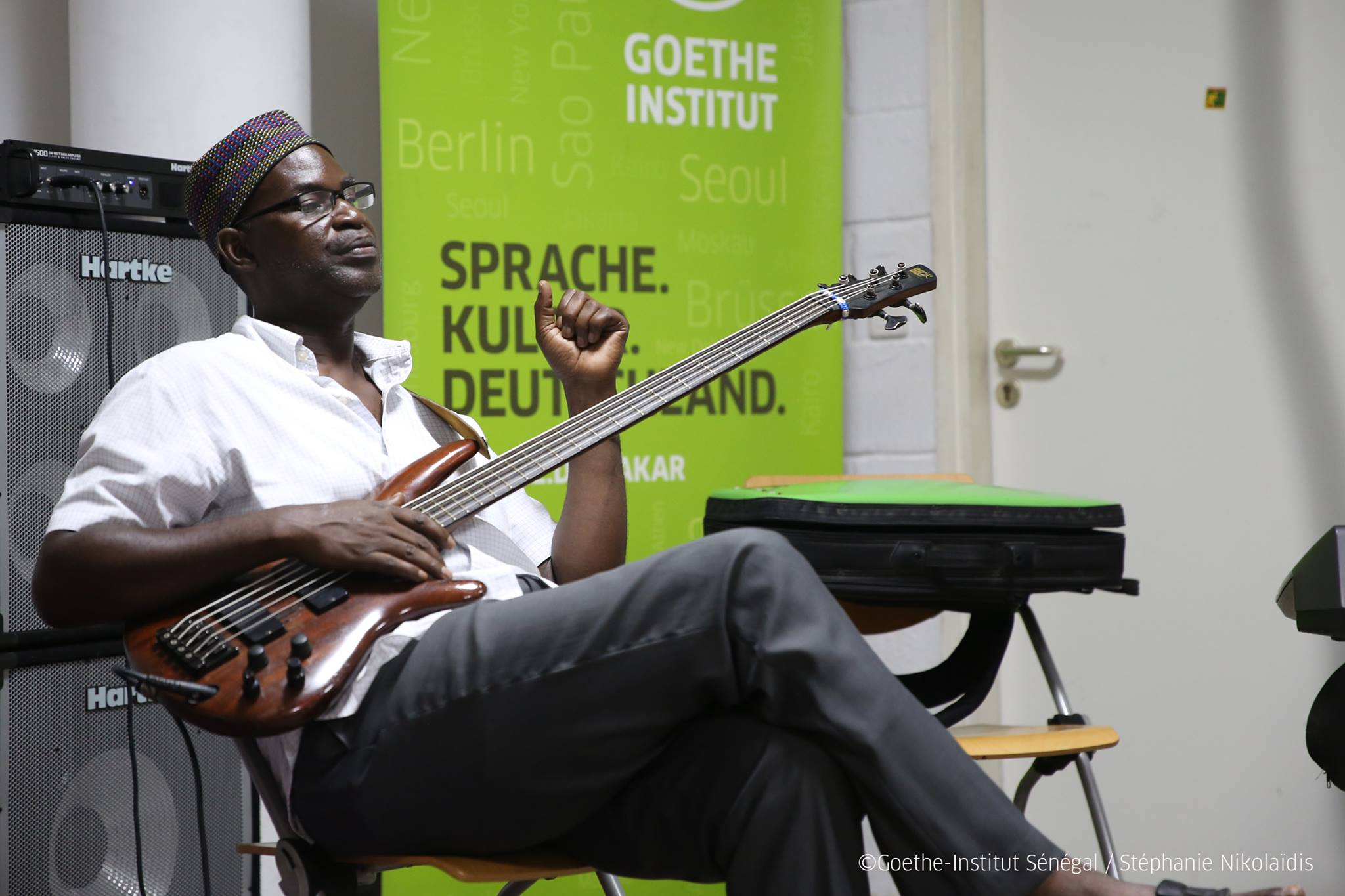 GESTU GROUPE - rehearsal at Goethe Institut Dakar